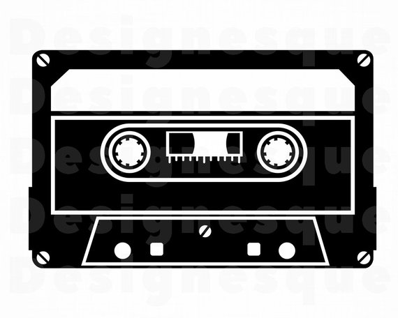 Cassette tape images clipart clip art freeuse Cassette Tape SVG, Audio Cassette Svg, Audio Tape Svg, Cassette ... clip art freeuse