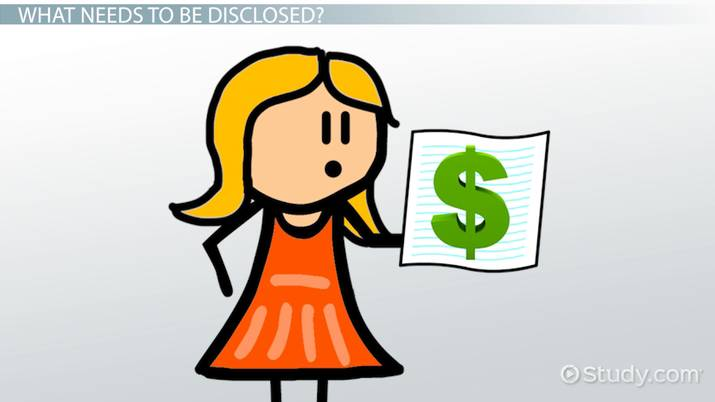 Disclosure Requirements for Cash Flow Statements - Video & Lesson ... clip black and white