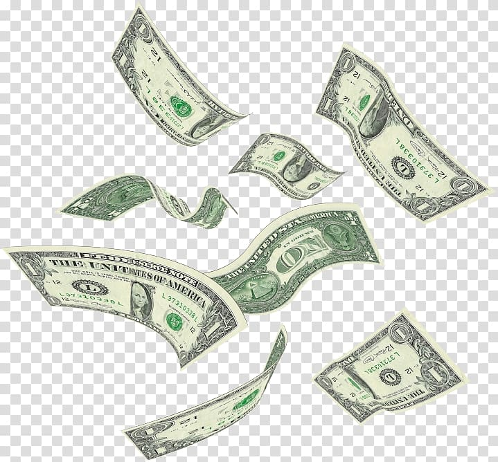 Cash flying clipart image royalty free US dollar banknote lot, United States Dollar file formats, Flying ... image royalty free