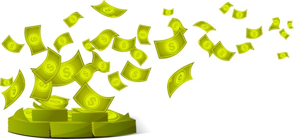 Cash flying clipart png library download Flying Money Cliparts - Cliparts Zone png library download