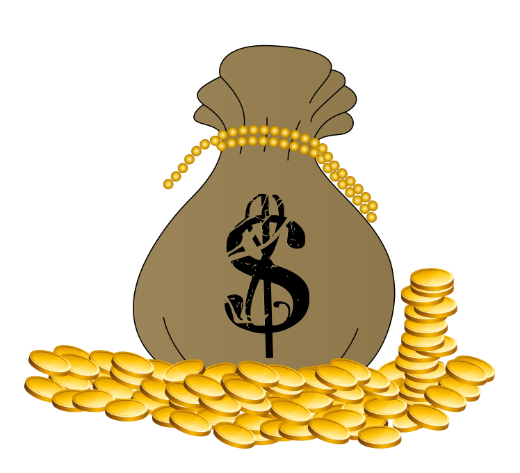 Cash for gold clipart picture free library 103+ Gold Coins Clipart | ClipartLook picture free library