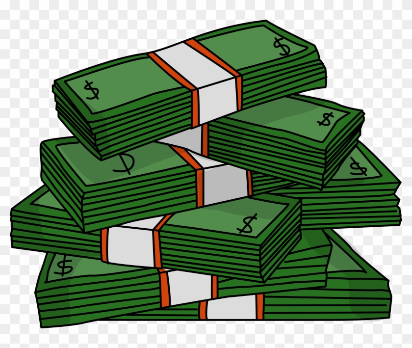 Cash pictures clipart png library stock Stacks Of Cash Clipart - Stacks Of Money Clipart, HD Png Download ... png library stock