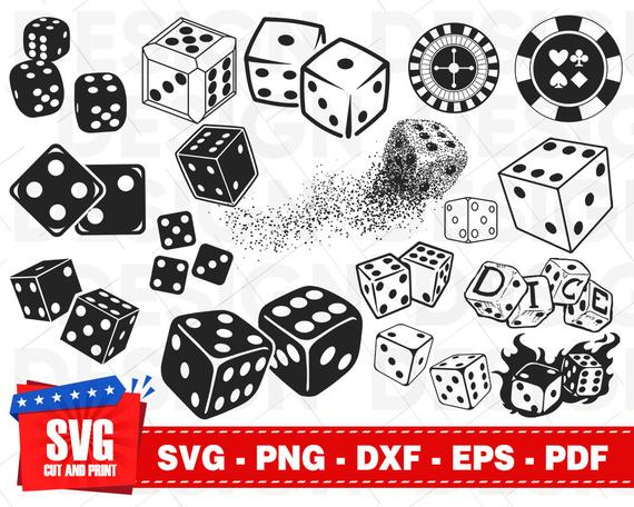Casino dice clipart clip art black and white download Dice svg, dice clipart, gambling svg, casino svg, dice vector, dice ... clip art black and white download