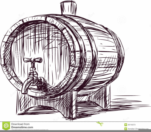 Cask clipart jpg transparent stock Wine Cask Clipart | Free Images at Clker.com - vector clip art ... jpg transparent stock