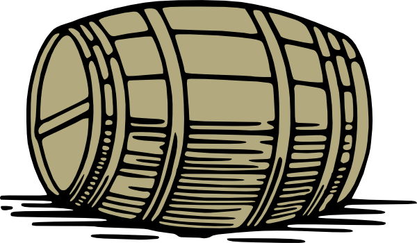 Cask clipart svg Large Barrel clip art (106110) Free SVG Download / 4 Vector svg