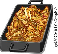 Casserole Clip Art - Royalty Free - GoGraph banner black and white download