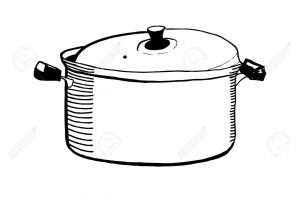 Casseroles clipart black and white clipart royalty free stock Casserole clipart black and white 4 » Clipart Portal clipart royalty free stock