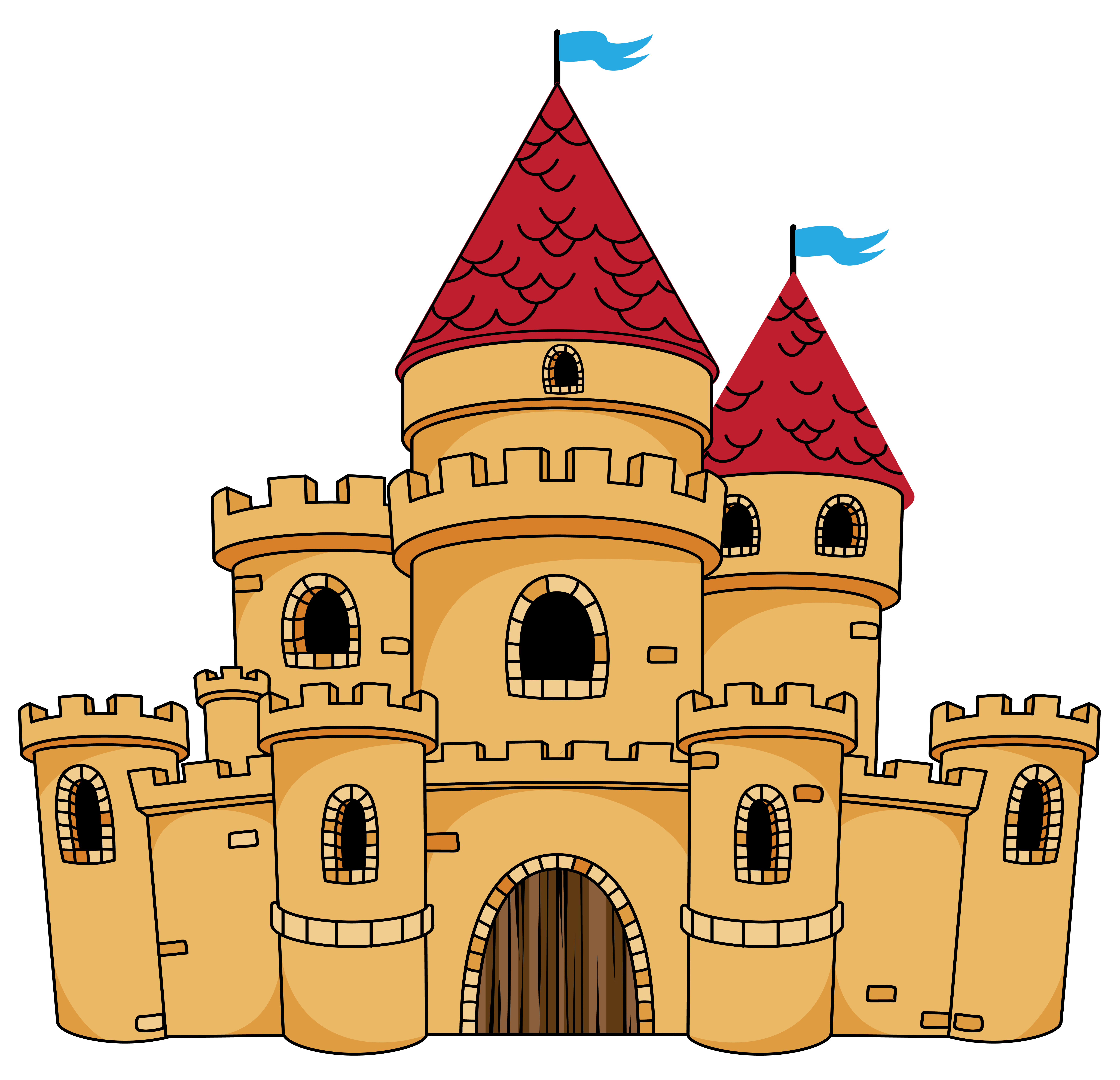 Pin by Priscilla Lang Studer on Clip Art | Castle, Castle crafts ... clip art library