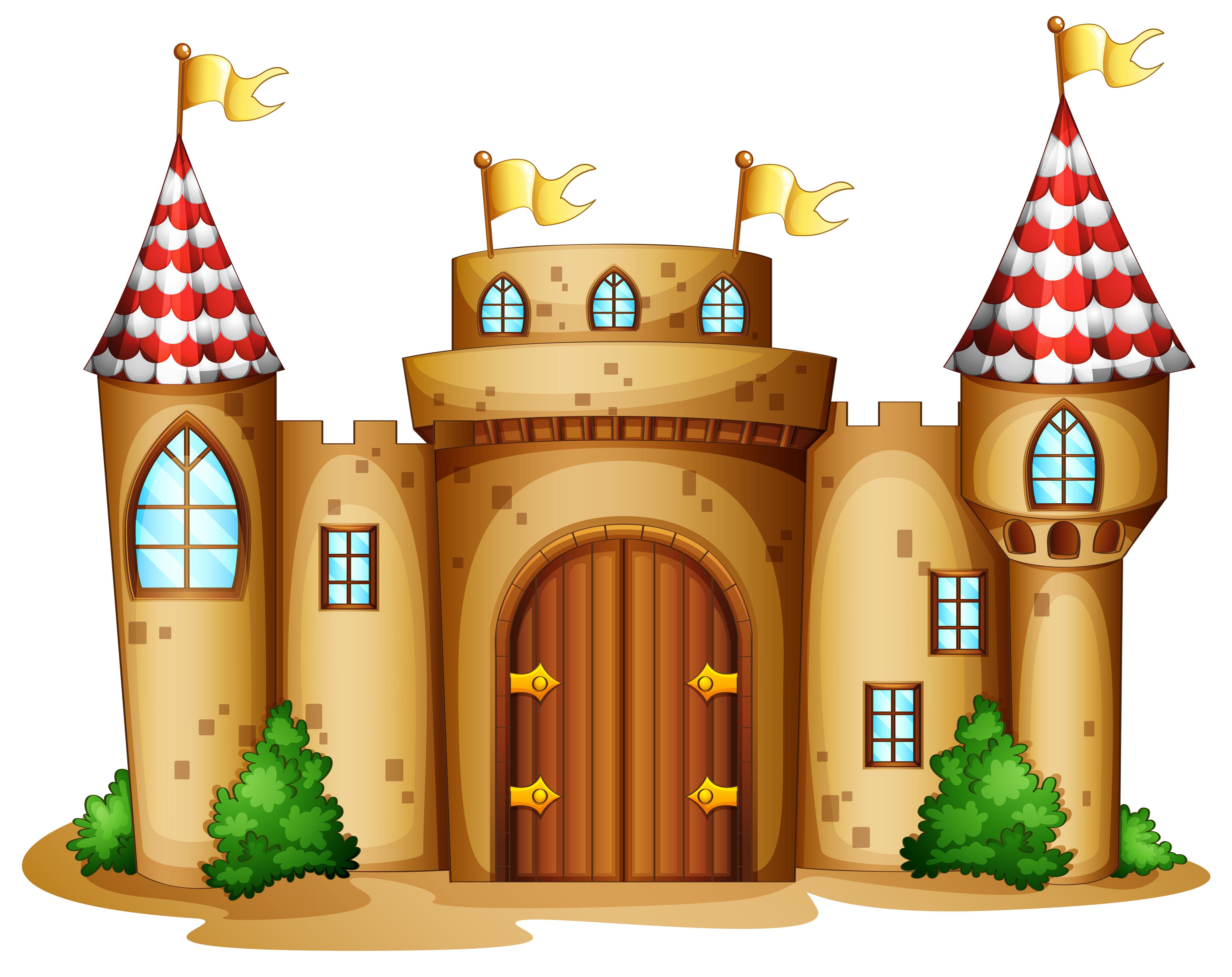 Castle cartoon clipart vector library Free Cartoon Castle, Download Free Clip Art, Free Clip Art on ... vector library