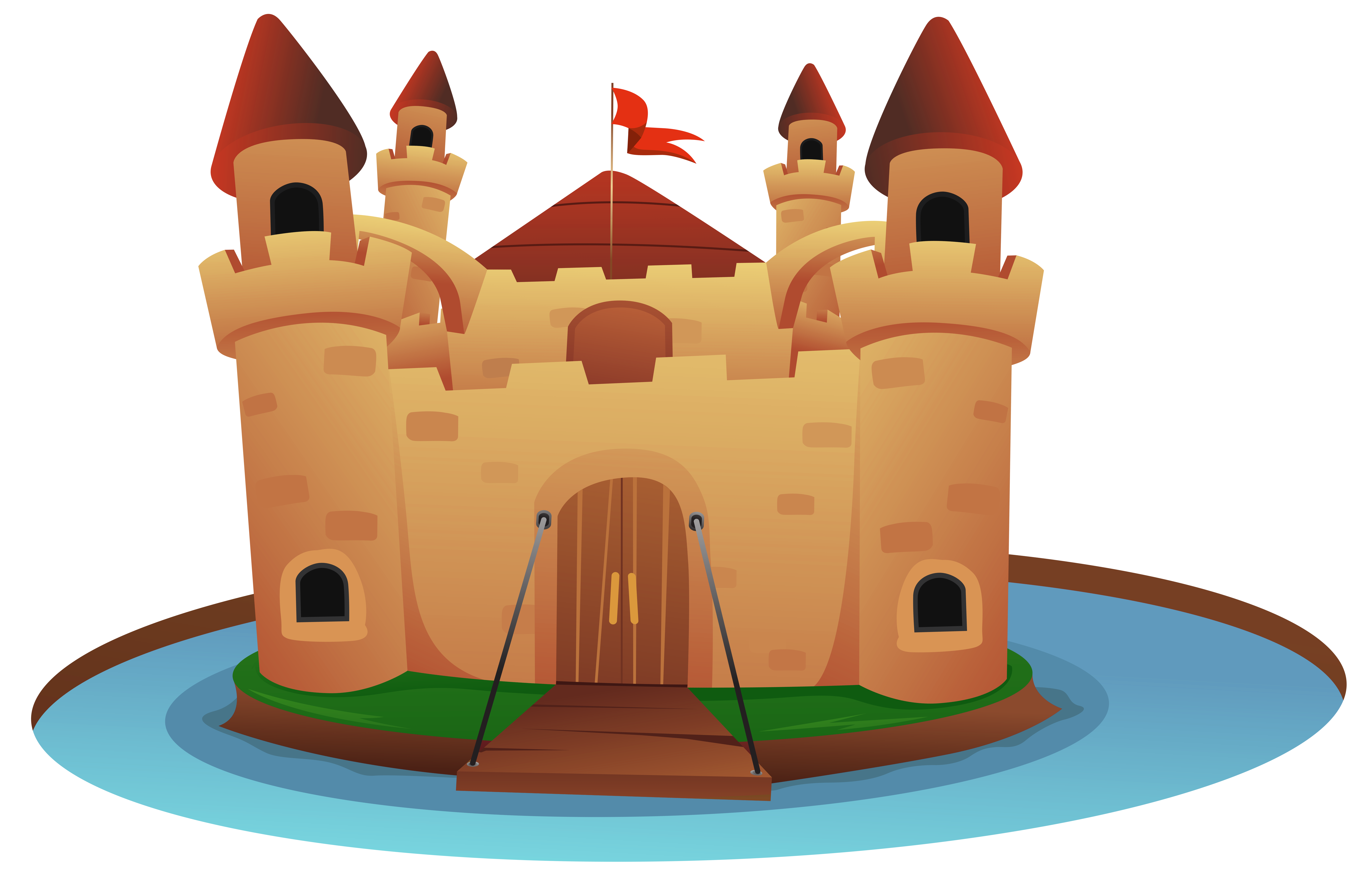 Castle cartoon clipart clip art royalty free download Castle Cartoon PNG Clip Art Image | Gallery Yopriceville - High ... clip art royalty free download