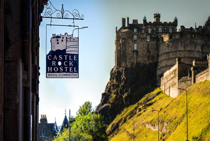 Castle country rocks clipart png library Castle Rock Hostel - Edinburgh - Scotland - Scotland\'s Top Hostels png library