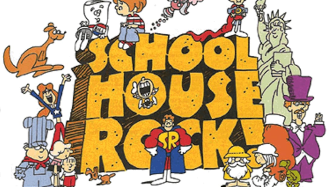 Castle country rocks clipart png library library 15 Schoolhouse Rock Facts | Mental Floss png library library