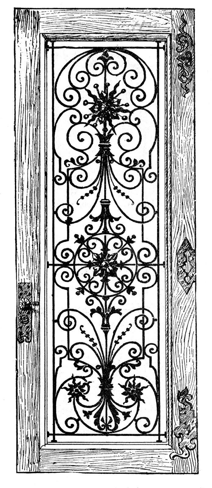 Castle door clipart black and white jpg Castle Door Clipart Castle Door Drawing Drawing Castle Door - Clip ... jpg