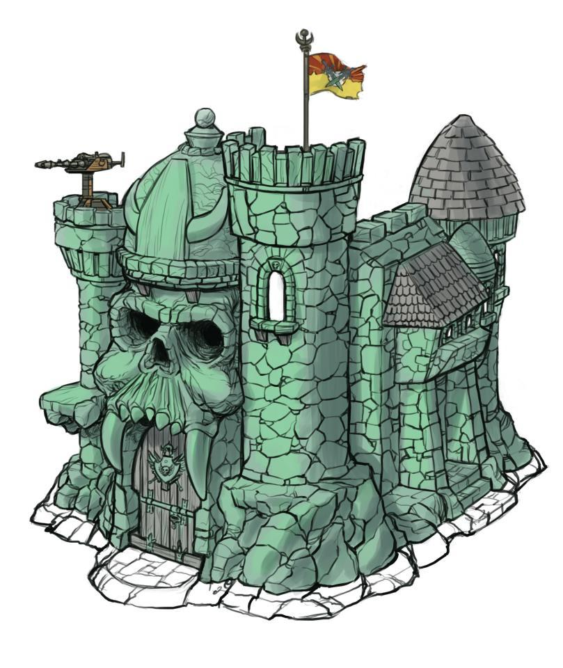 Castle grayskull clipart clipart black and white download Last Chance to Pre-Order Masters of the Universe Classics Castle ... clipart black and white download