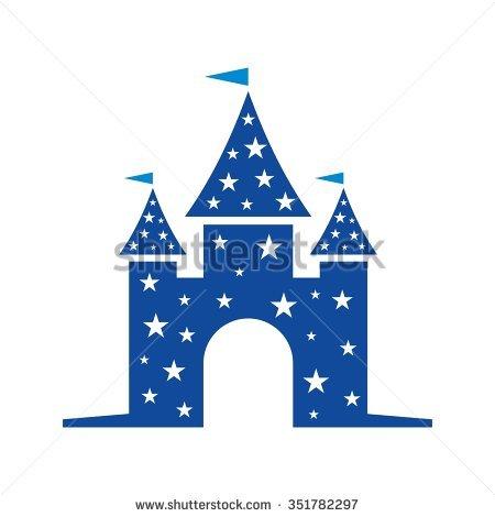 Castle logo vector clipart banner royalty free library Castle Logo Vector Stock Vector 351782345 - Shutterstock banner royalty free library