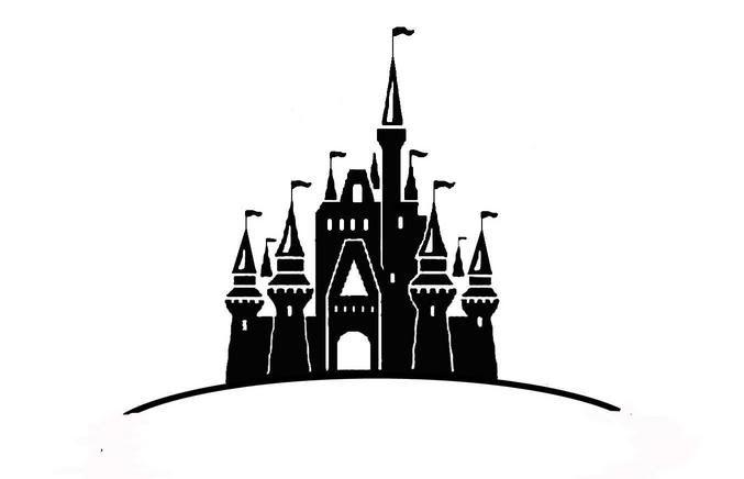 Castle logo vector clipart banner royalty free stock Disney castle logo clipart - ClipartFox banner royalty free stock
