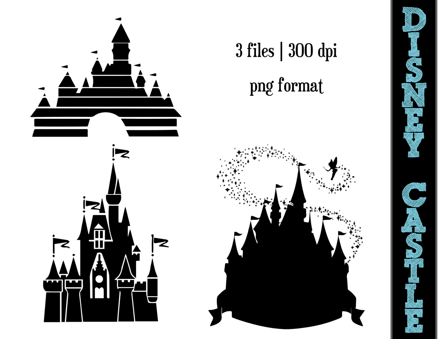 Castle logo vector clipart svg free library Disney Castle Logo Clipart#2147154 svg free library
