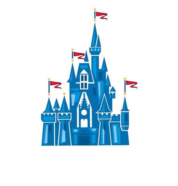 Castle logo vector clipart banner royalty free library Disneyland Castle Logo Clipart - Clipart Kid banner royalty free library