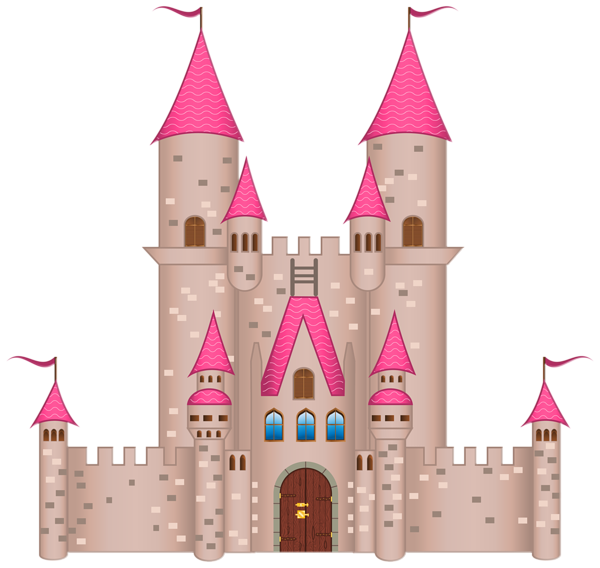 Castle with crown clipart graphic royalty free stock Pink Castle PNG Clipart Image | Clip Art (Fairytale) | Pinterest ... graphic royalty free stock