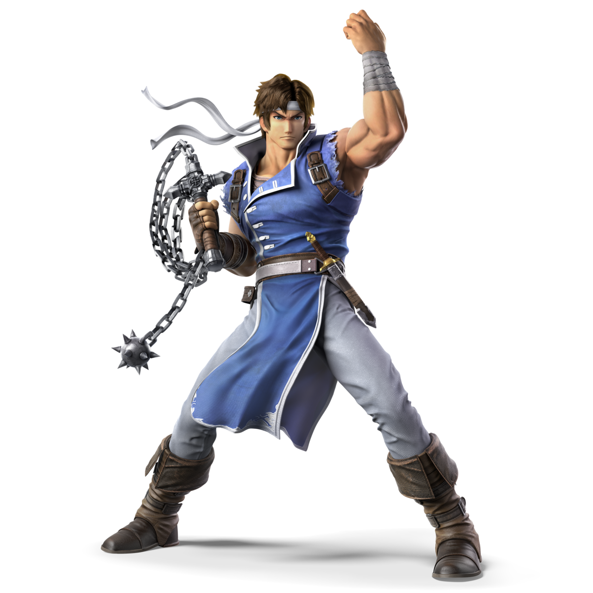Castlevania chain whip clipart banner freeuse stock Richter (SSBU) - SmashWiki, the Super Smash Bros. wiki banner freeuse stock