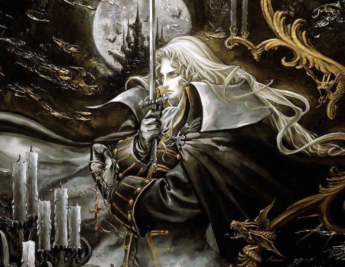 Castlevania symphony of the night clipart transparent download Con Nichiwa on Twitter: \