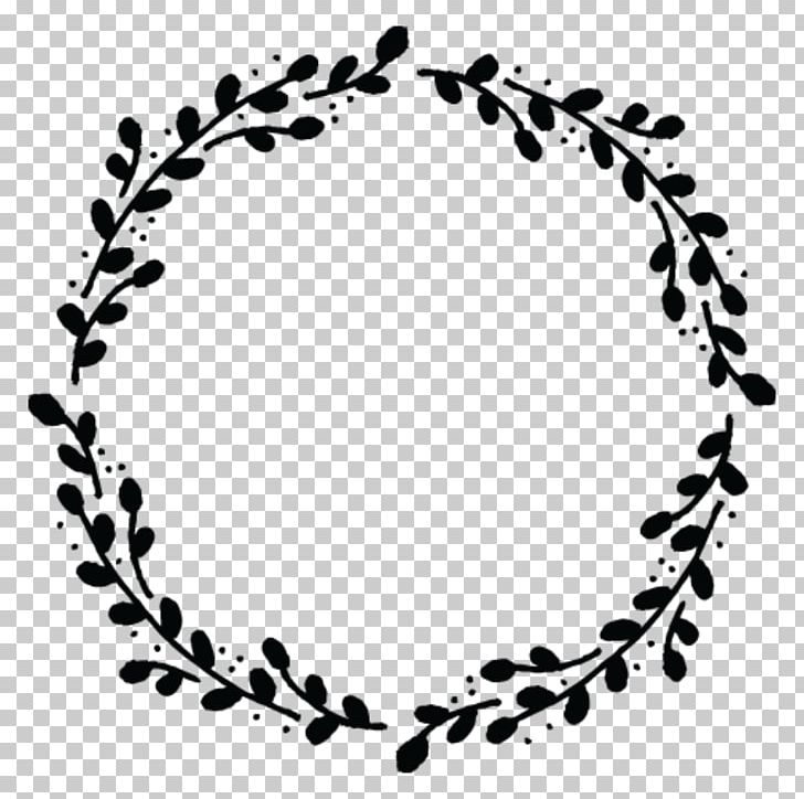 Casual branch wreath clipart jpg transparent library Wreath Drawing PNG, Clipart, Black, Black And White, Body Jewelry ... jpg transparent library