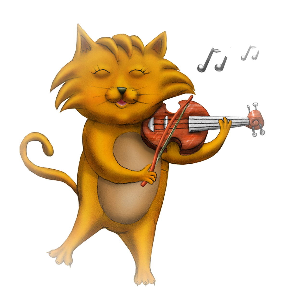 Cat and the fiddle clipart free library Zero Fruit | Tiny Tim Blows a Bubble free library