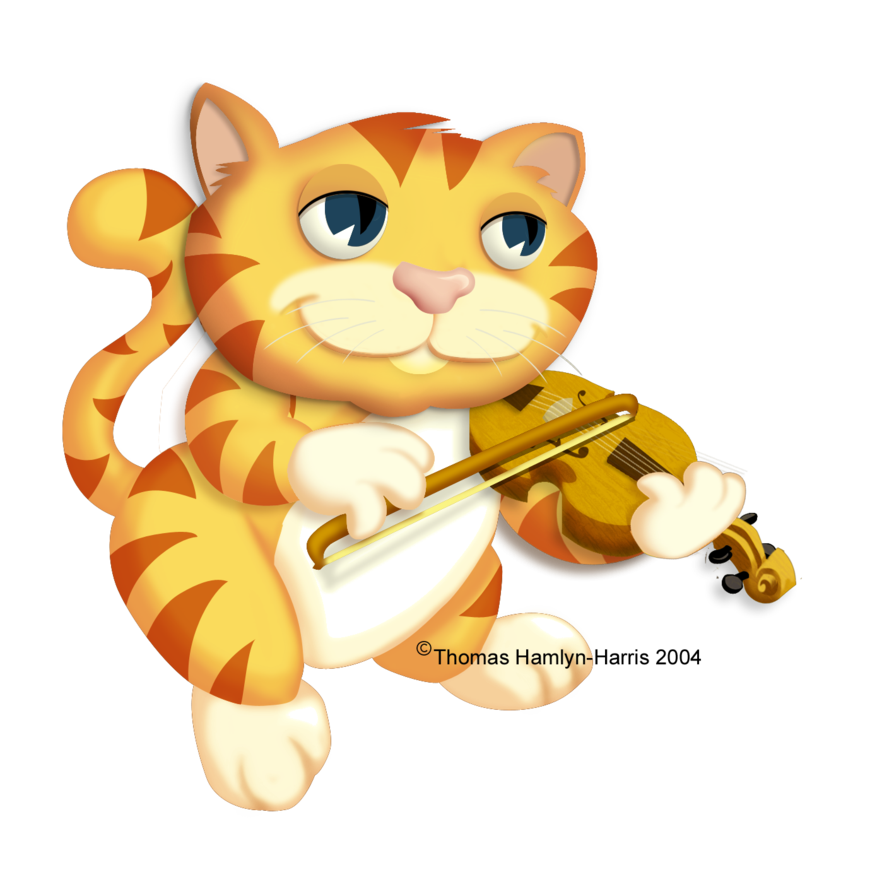 Cat and the fiddle clipart svg free download cat played the fiddle by thomashh on DeviantArt svg free download