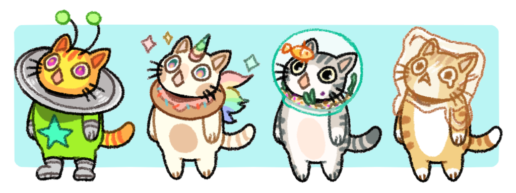 Cat and fishbowl clipart clipart library I have too many kitty OCs by l-lAHA on DeviantArt clipart library