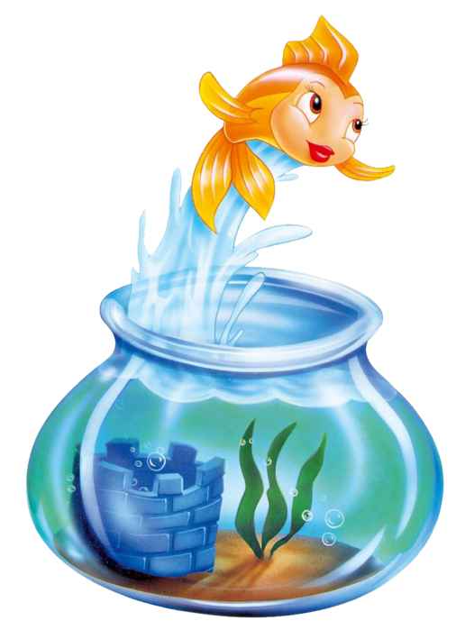 Cat and fishbowl clipart picture free Cleo | Disney Wiki | FANDOM powered by Wikia picture free