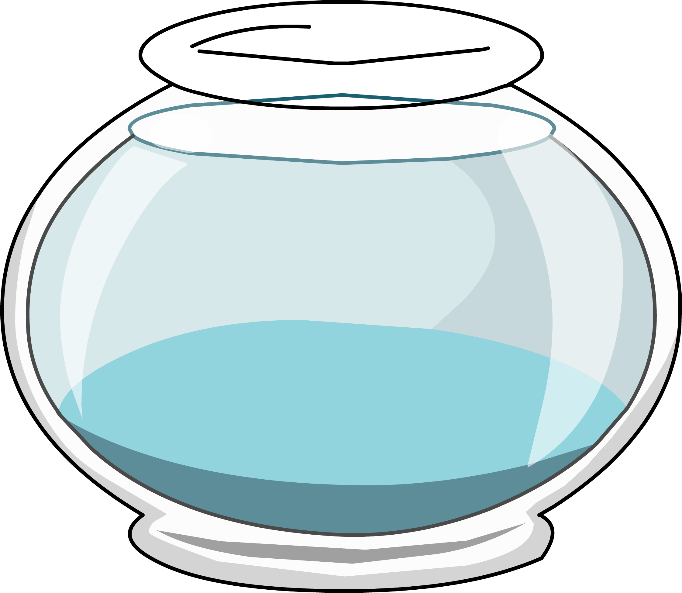 No cliparts clipartix. Fish bowl with fish clipart