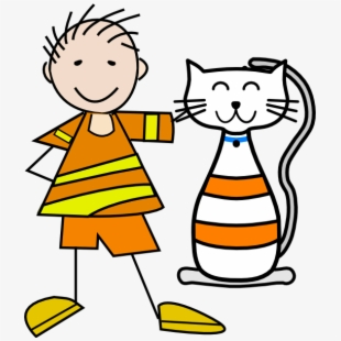 Cat and girl clipart png free stock Free Cat In The Hat Clipart Clipart Free To Use Clip - Cat And Girl ... png free stock