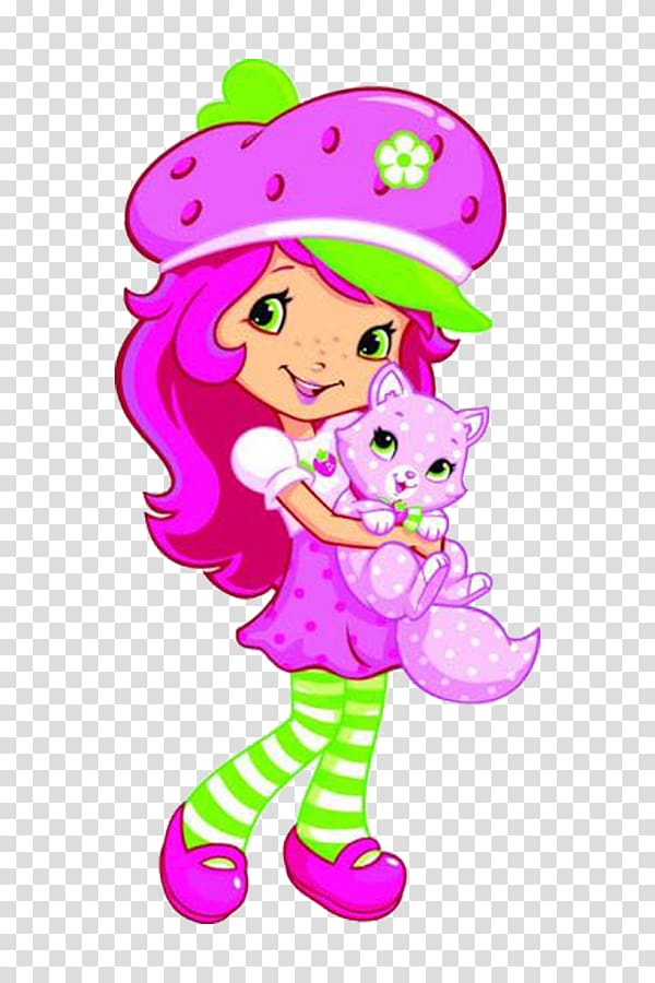 Cat and girl clipart picture free download Strawberry Shortcake Strawberry Shortcake Custard Cupcake, Girl ... picture free download