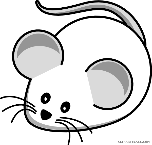 Cat and mouse clipart picture royalty free library White Mouse Clipart - ClipartBlack.com picture royalty free library