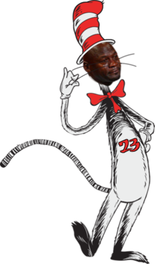 Cat and the hat clipart clip free stock Dr Seuss Cat In Hat | Crying Michael Jordan | Know Your Meme clip free stock