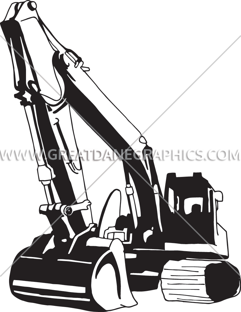 Cat backhoe clipart clipart royalty free Backhoe Drawing at GetDrawings.com | Free for personal use Backhoe ... clipart royalty free