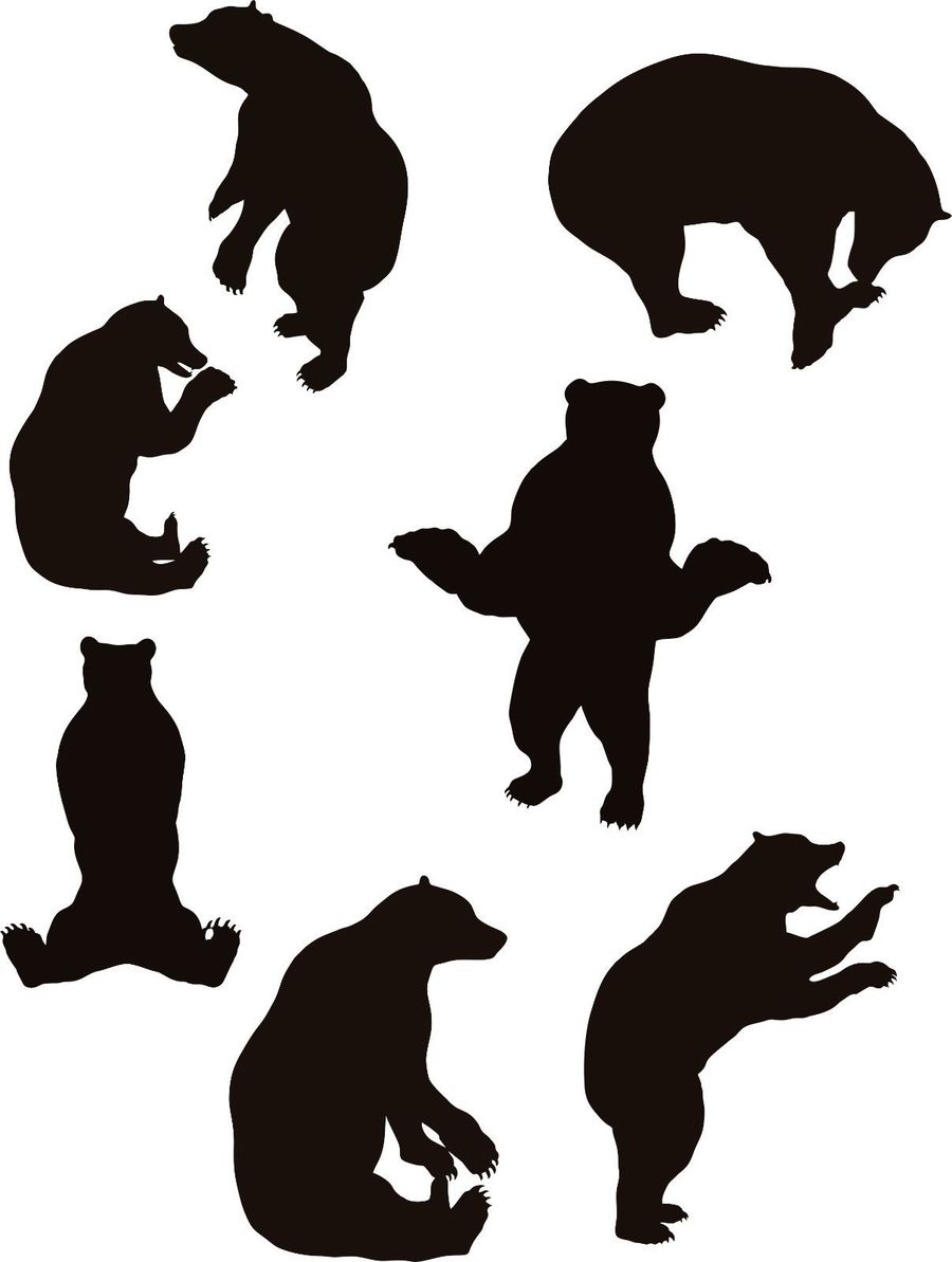 Cat bear clipart picture Download silhouette clipart Cat Bear Clip art | Cat, Bear, Dog ... picture
