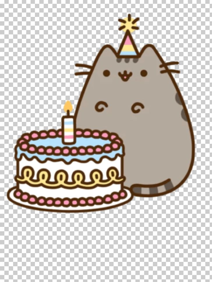 Cat birthday clipart free jpg royalty free library Pusheen Cat Birthday Cake Pusheen Cat PNG, Clipart, Animals ... jpg royalty free library