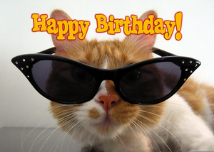 Cat birthday clipart free clip art Happy Birthday Cat | Free Images at Clker.com - vector clip art ... clip art