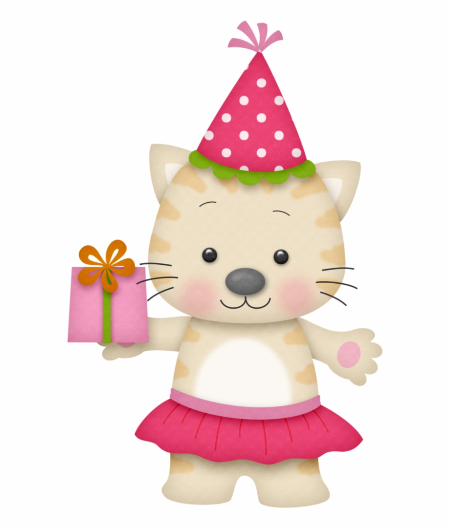 Cat birthday clipart free banner free download B *✿* Birthday Girl - Kitty Cat Birthday Clipart, Transparent Png ... banner free download