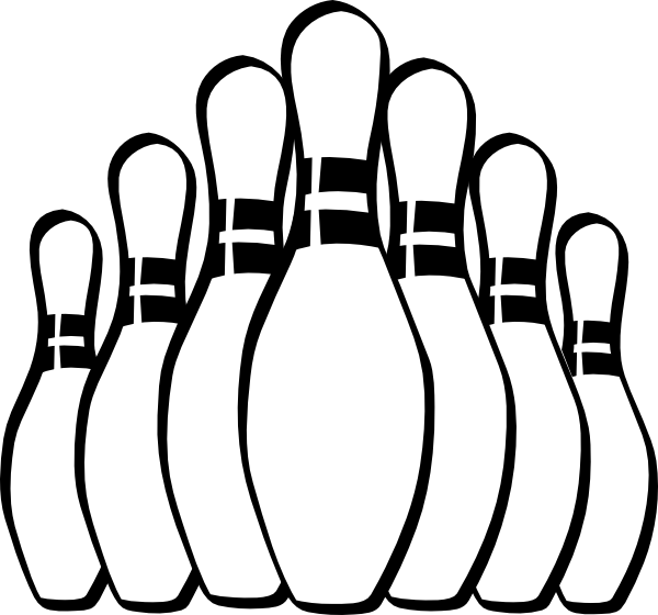 Cat bowling clipart clipart black and white download Bowling Alley Drawing at GetDrawings.com | Free for personal use ... clipart black and white download