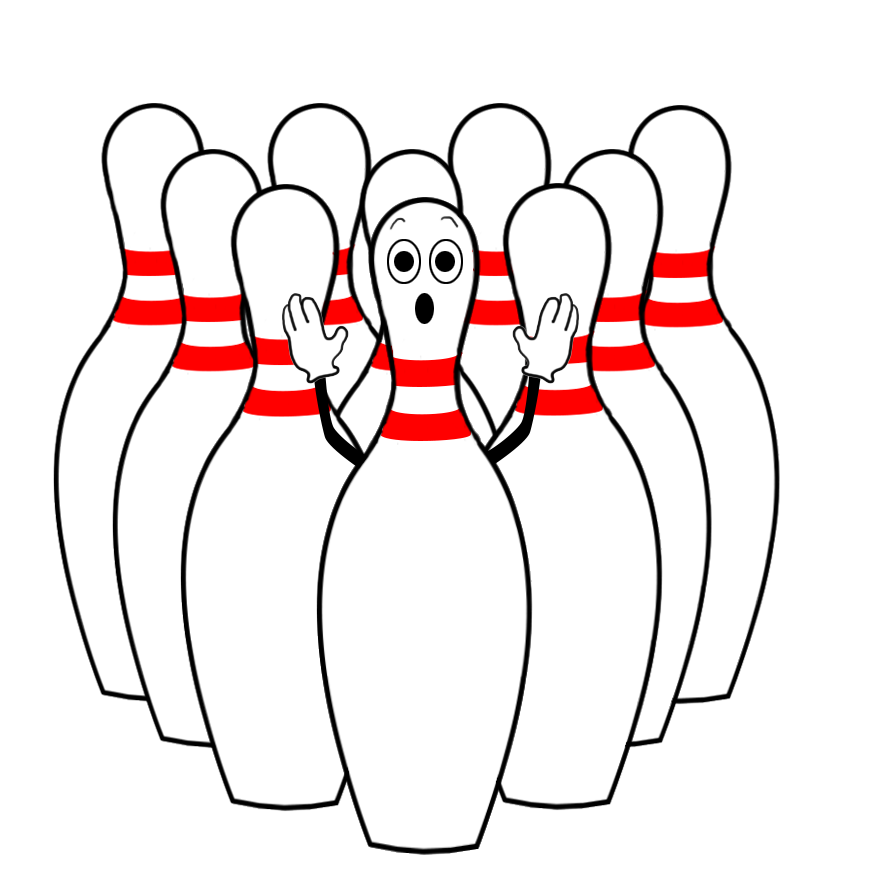 Cat bowling clipart graphic Bowling Clipart graphic