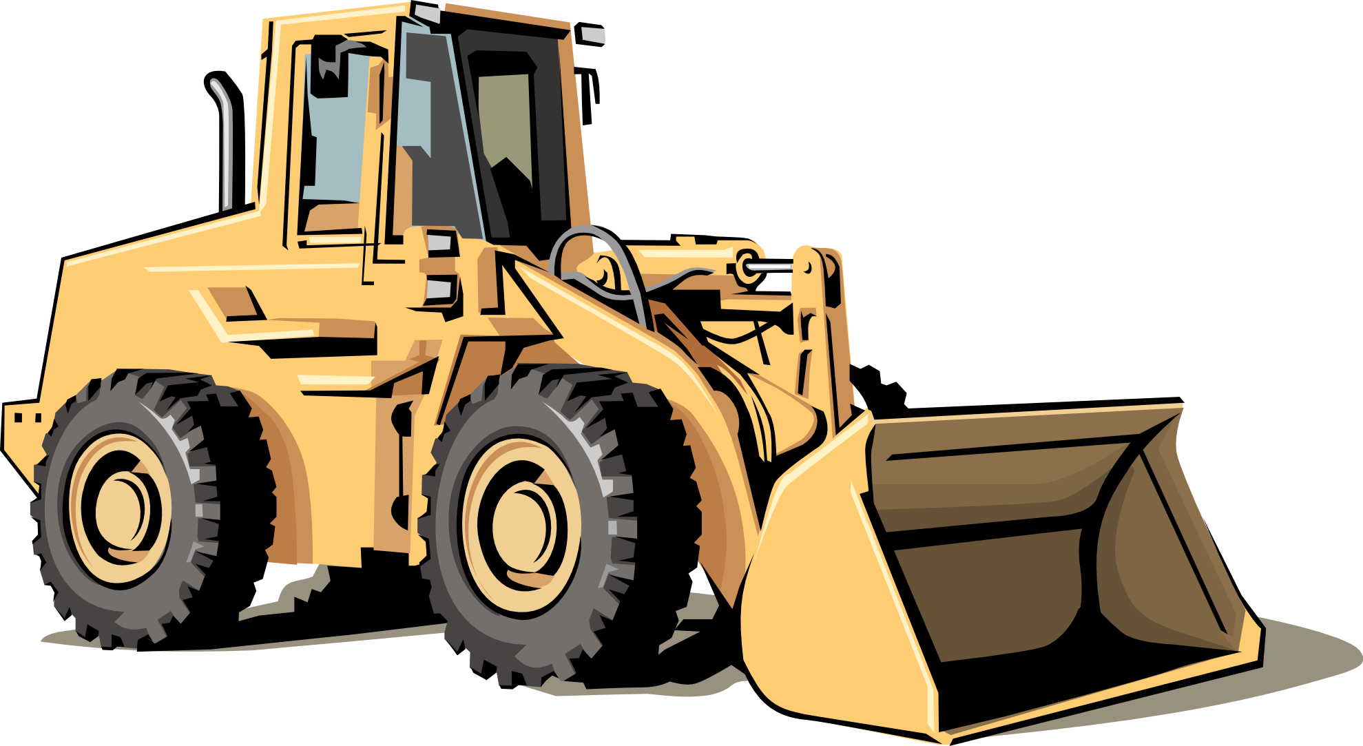 Cat bulldozer clipart svg freeuse 28+ Collection of Construction Equipment Clipart | High quality ... svg freeuse