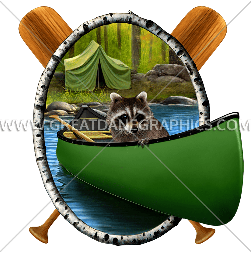Cat camping clipart image transparent download Camping Raccoon | Production Ready Artwork for T-Shirt Printing image transparent download
