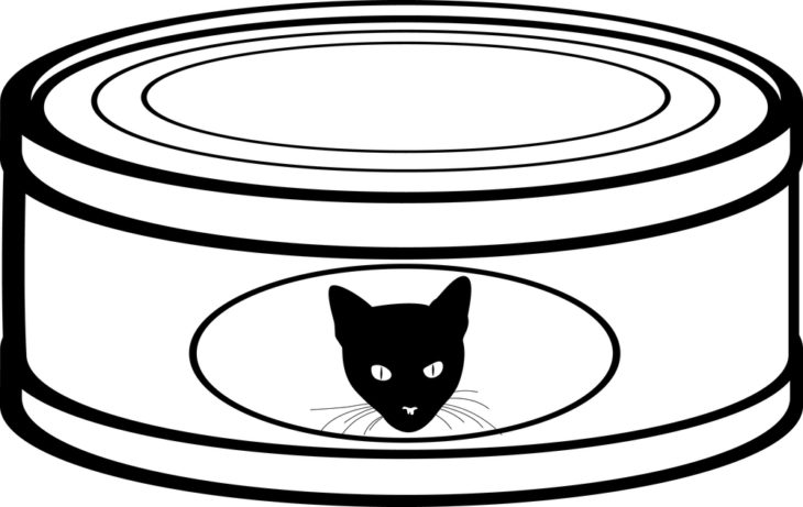 Cat can food clipart picture transparent library Rating Cat Food Brands In Cans picture transparent library