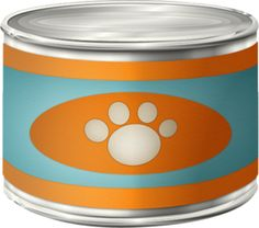 Cat Food Can Clipart clip art library stock