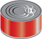 Canned cat food clipart - Clip Art Library graphic free download