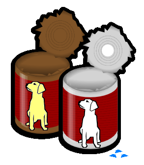 Canned cat food clipart - Clip Art Library banner royalty free download