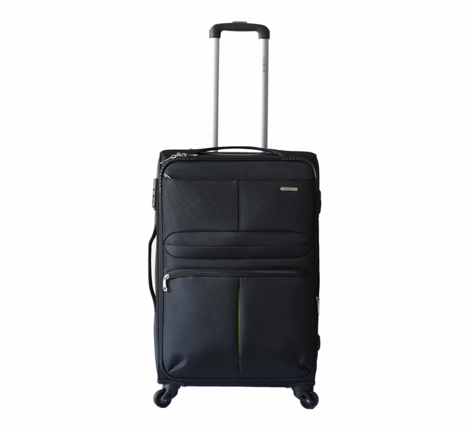 Goblin Trapeze Soft Luggage 4 Wheels Trolley Bag - Away Carry On ... picture stock