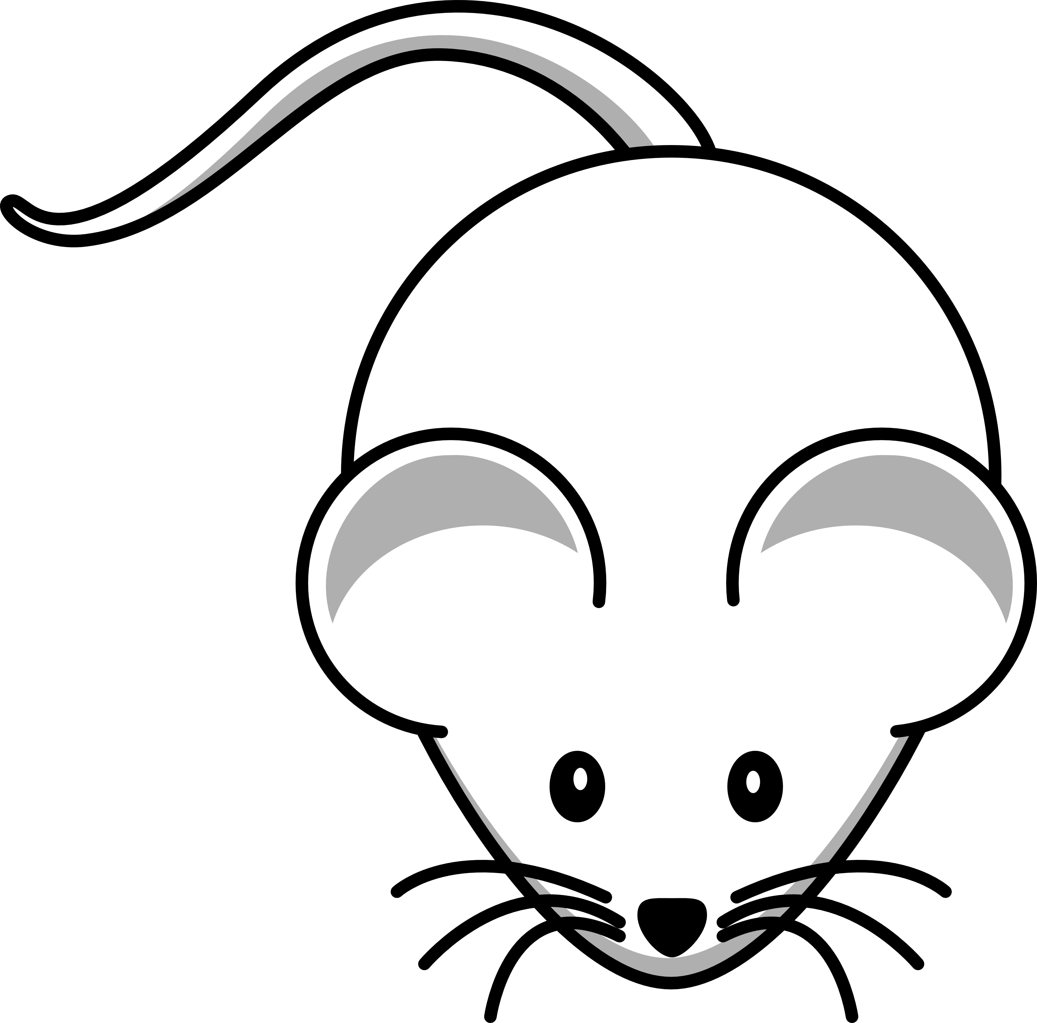 Cat chasing a mouse clipart picture transparent library Mouse Clip Art Black And White | Clipart Panda - Free Clipart Images picture transparent library